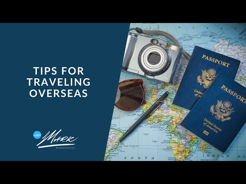 """Ask Mark: """"Best Tips For Traveling Overseas"""""""