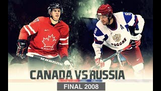 Чемпионат Мира 2008 FINAL [ Russia - Canada ] Overtime 720p(Чемпионат Мира 2008 Финал. Россия - Канада 1й Период - http://www.youtube.com/watch?v=yXCB45QdH14 2й Период ..., 2011-07-17T19:05:47.000Z)