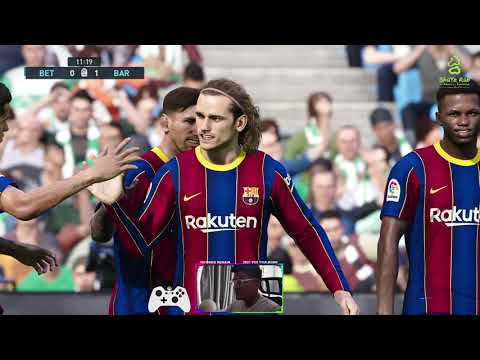 PES 2021- 3 Goals Highlights Real Betis vs FC Barcelona   Gameplay PC