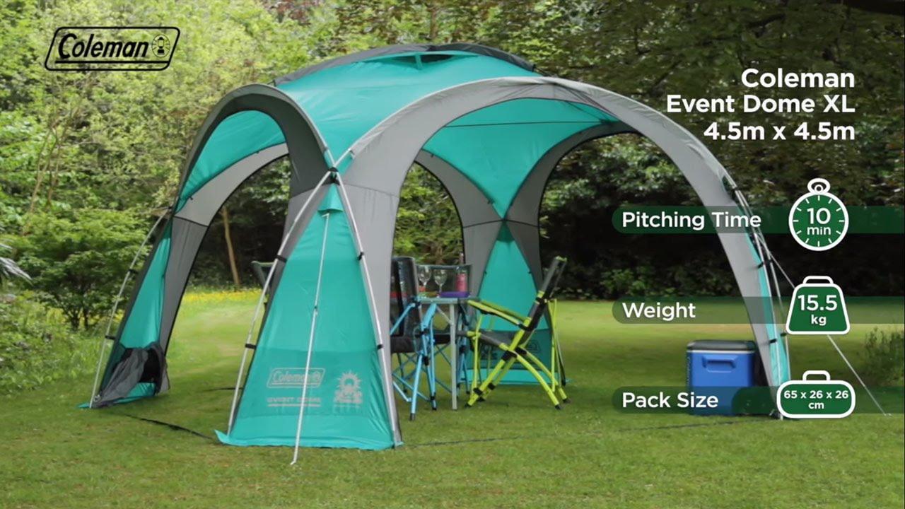 Coleman® Event Dome XL Shelter - EN & Coleman® Event Dome XL Shelter - EN - YouTube