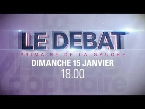 Bande Annonce Débat Primaire de la Gauche