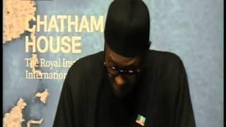 Muhammadu Buhari at Chatham House, London | TVC News