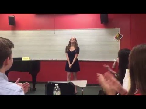 Without A Word from A Tale Of Two Cities - Sung by Katie Grogg