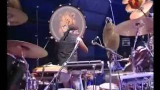Indian famous drummer Sivamani in a concert
