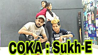 COKA : Sukh-E Muzical Doctorz |nnDance cover Maddy choreography 567go #hiphop #sukh-E