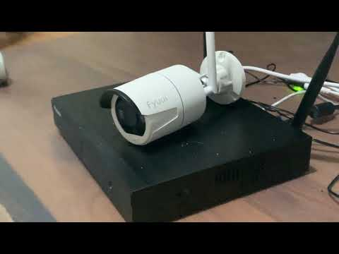 Unboxing & Set-Up Of The Fyuui 4 Channel Wireless Security System. Monitor Your Surroundings!