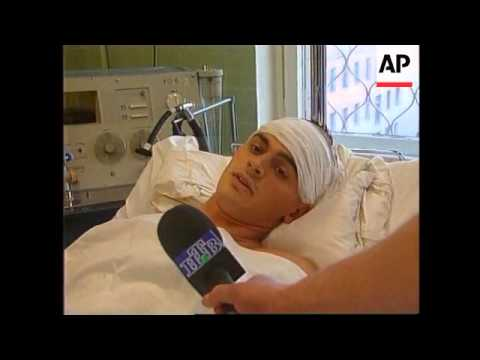 Russia- Olympic swimming champion Popov recovering