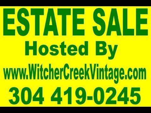 Witcher Creek Vintage Happy Holiday Estate Sale! Springdale Road, Hurricane-Dec 6-8, 2019