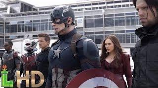 TEAM CAP - All Fight Scenes | Captain America Civil War HD