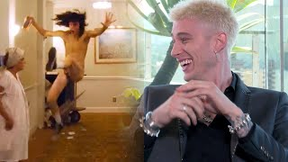 The Dirt: Machine Gun Kelly Reveals Truth Behind His Nearly Nude Scene!