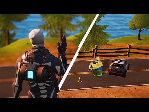 I Tried Fortnite In Roblox... And It Was BETTER?