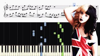 Melanie Martinez - Alphabet Boy - Piano Tutorial + SHEETS