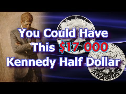 1964 Kenedy Half Dollar Worth $17000 Sells at Rare Coin Auction