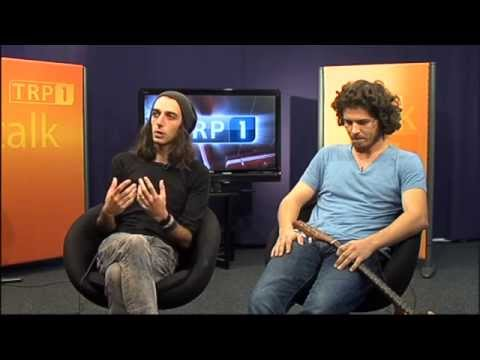 ALJOSHA KONTER & TONI HOFFMANN - TV Interview bei TRP1