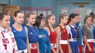 Турнир по боксу (девушки) г.Лакинск.