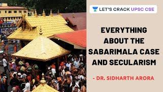 Everything about The Sabaŗimala Case and Secularism   Crack UPSC CSE 2020/2021