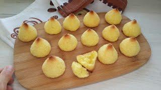 Простое Вкуснейшее Печенье без муки из трёх ингредиентов Кокосанка