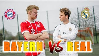 REAL MADRID vs BAYERN MÜNCHEN - Champions League Challenges