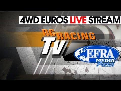 1/10 4WD Euros 2012 - Finals Day LIVE! - EFRA