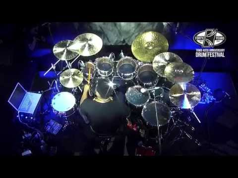 TAMA 40th Anniversary Drum Festival - Ronald Bruner Jr., Part 1