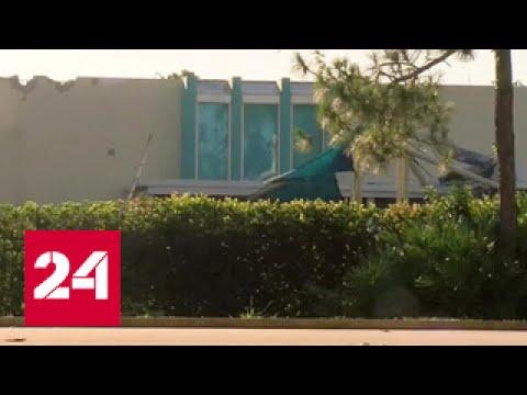 Легкомоторный самолет врезался в дом во Флориде