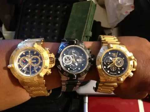 invicta watch collection nice collection youtube. Black Bedroom Furniture Sets. Home Design Ideas
