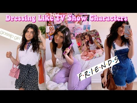 Dressing Like 10 Popular TV Show Characters