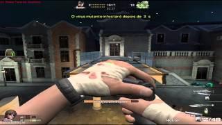 Jogando modo Mutante Assault Fire
