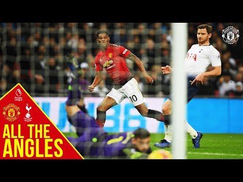 All the Angles   Marcus Rashford v Tottenham Hotspur   Manchester United   Premier League Mp3