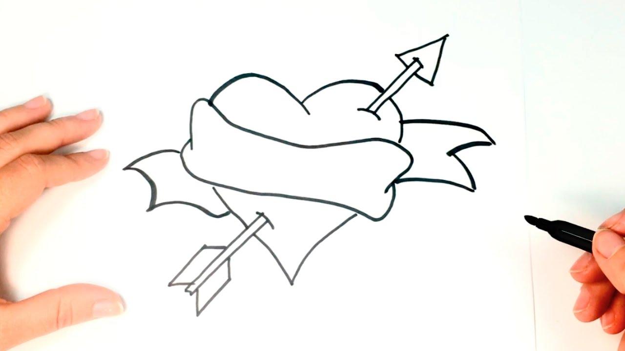 Rosa dibujo facil images galleries - Como hacer dibujos en la pared ...