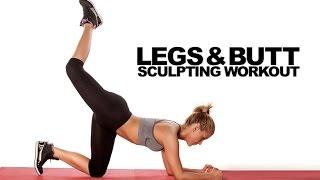 Legs and Butt Sculpting Workout (BODYWEIGHT BURNER!!)