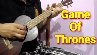 Game of Thrones Fingerstyle Ukulele Theme Lesson in Hindi