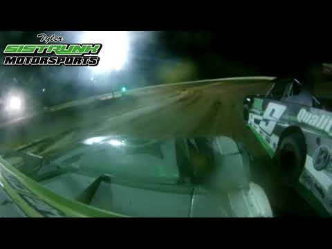 """CLOSE AND CLEAN RACING! -""""Fall Fling""""Heat Race - North Florida Speedway - Tyler SIstrunk Motorsports"""