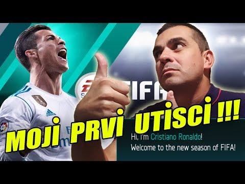 MOJI PRVI UTISCI+OPENING PLAYERS PACKS - FIFA Football ( 18 )