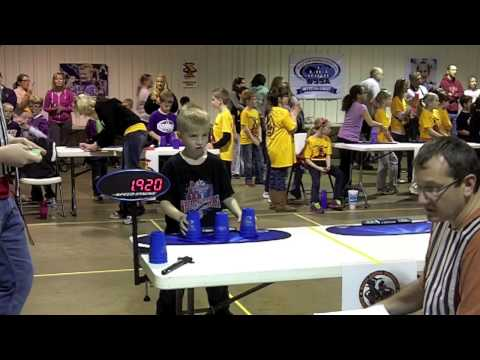 Sport Stacking Division World Record: 3-3-3 - 1.777