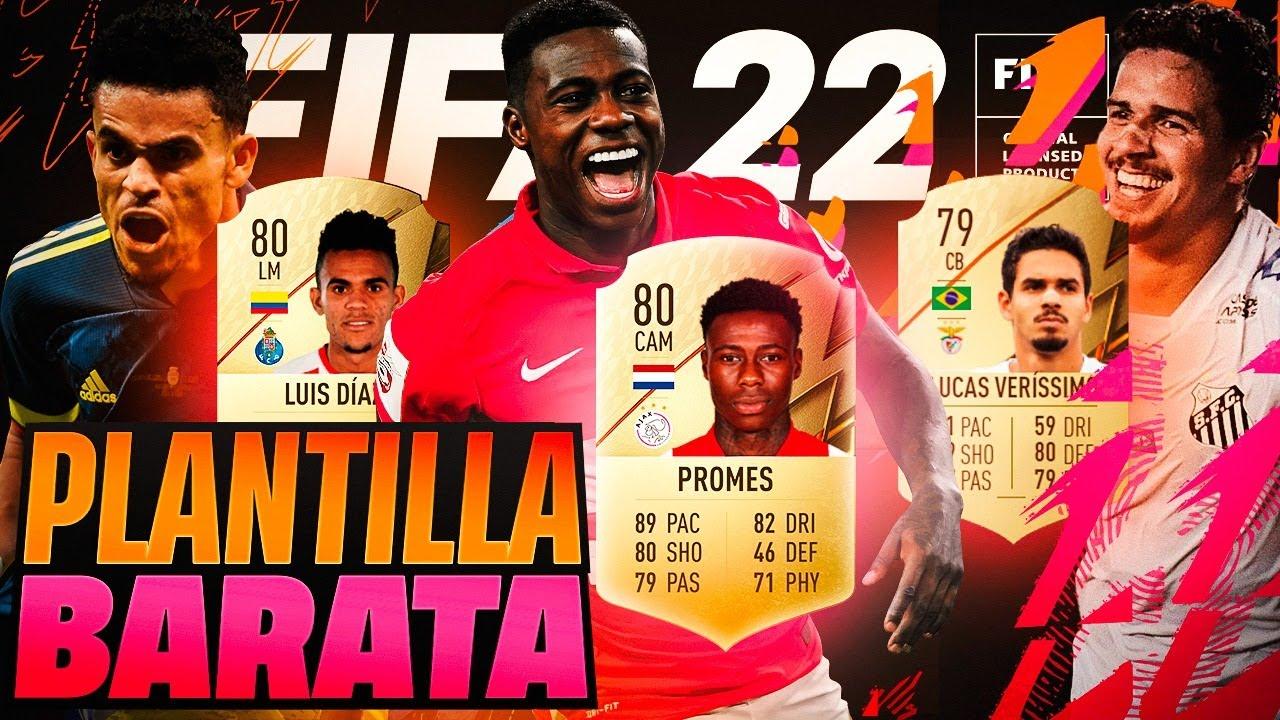 FIFA 22 Mejores Plantillas Baratas Chetadas Para Empezar A Jugar El Primer Dia  - Plantilla Brasil