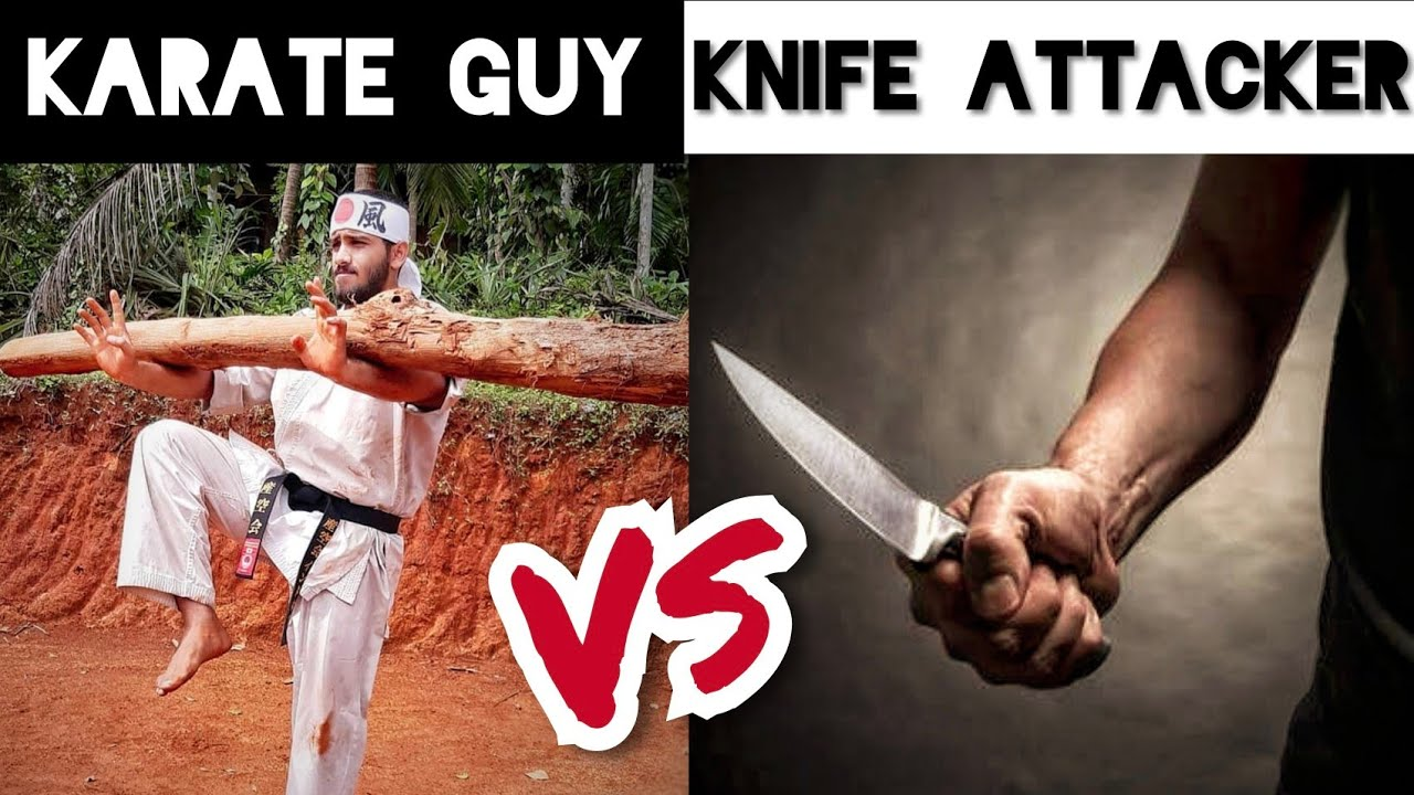 Can KARATE save you from a 'KNIFE ATTACK' ????