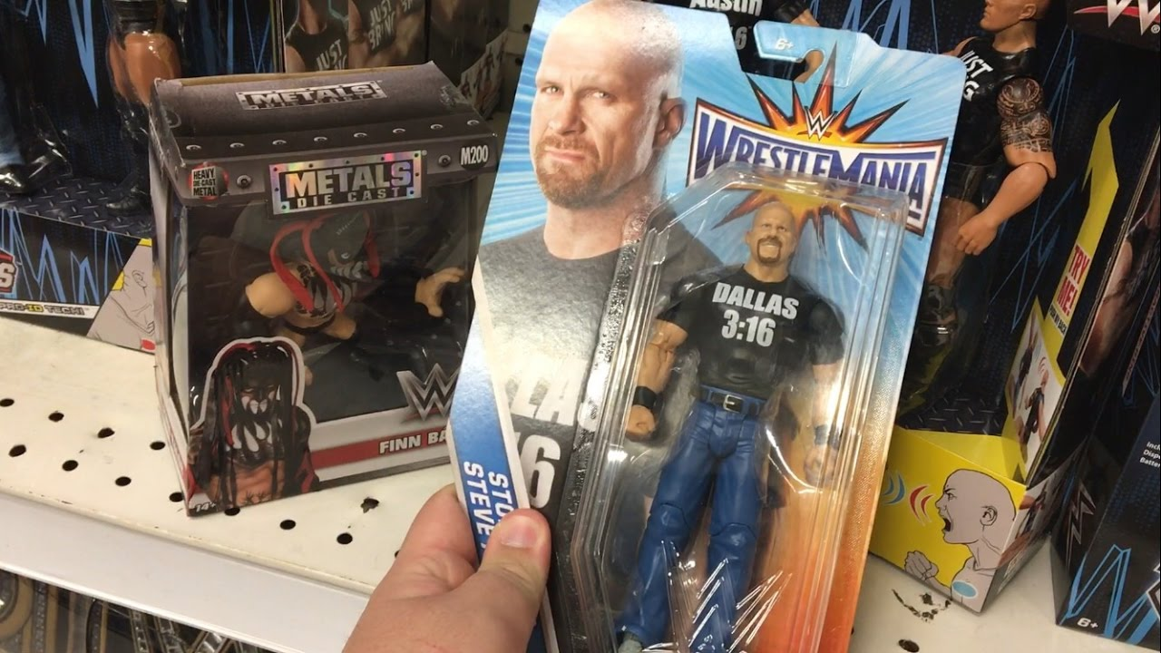 Walmart Wwe Toys : First wwe toy hunt of walmart target toysrus youtube