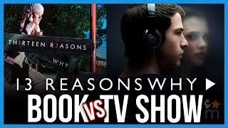 10 Biggest Differences: 13 REASONS WHY TV Show VS Book | The Lineup