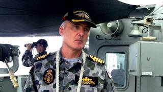 HMAS Perth and Chinese Navy search for MH370