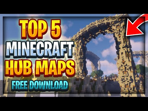 Top 5 Minecraft Server Hub Maps + Free Download [2020]