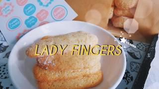 """[HOMEMADE] LADY FINGERS - Bánh Quy """"Ngón Tay"""" Nhà Làm ❤️"""