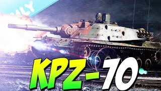 KPZ-70 - Is There Anything Bad About This Tank? (War Thunder 1.71 Gameplay)
