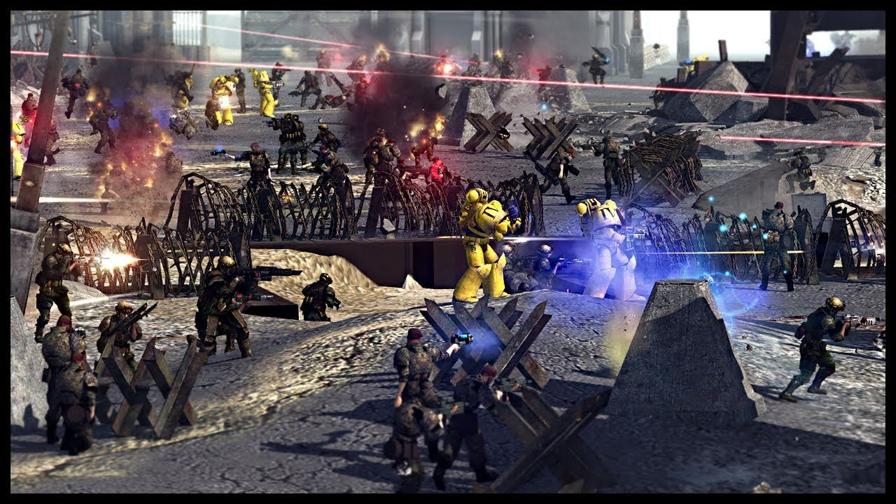 Imperial fists space marines on crusade warhammer 40k mod youtube - Imperial fists 40k ...