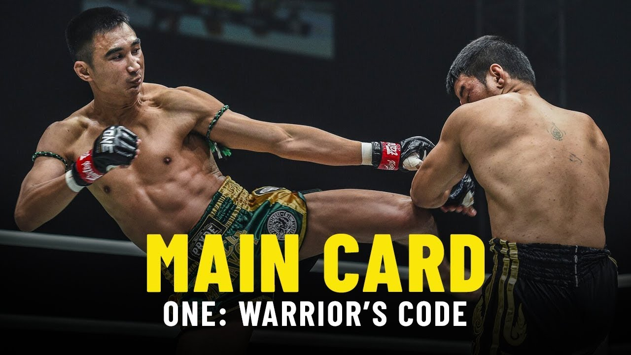 ONE: WARRIOR'S CODE Main Card Highlights