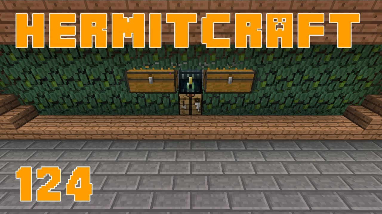 Hermitcraft 124 Nether Quartz Automatic Record Farm Youtube
