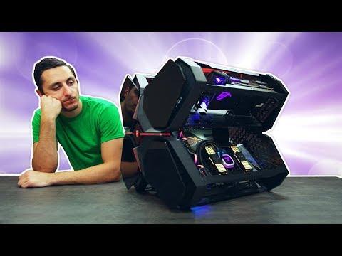 Building a $4700 PC Inside the DeepCool Quadstellar Case!