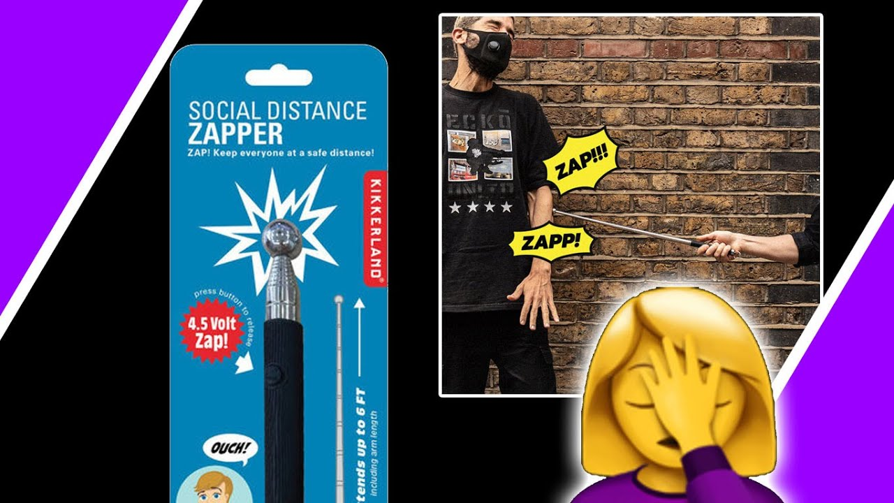 Social Distance Zapper ?♀️ The World Has Officially Gone NUTS ?#lockdown / Hugo Talks