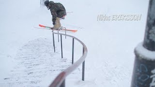 Partly Cloudy Bonus Clip: Nikas Eriksson S Rail