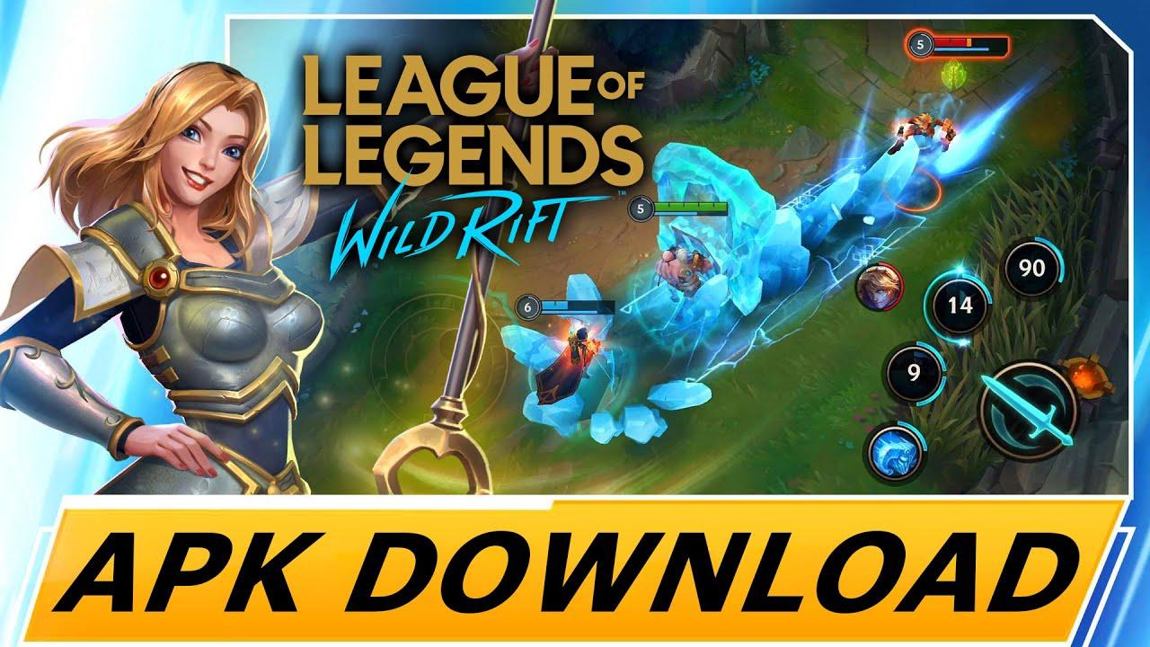 League Of Legends Wild Rift Mobile Apk